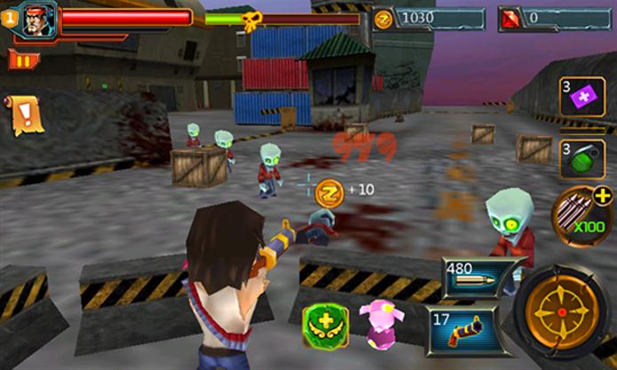 AE CoC Zombie é um jogo de tiro em terceira pessoa para Windows Phone 7.5 e 8 (Foto: Divulgação/Windows Phone Store)