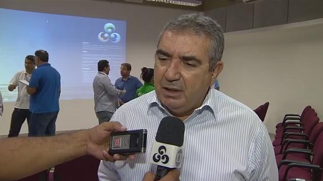Diretor Comercial da Rede Amazônica, Gino Pardial, fala da importância da campanha (Foto: JAM)