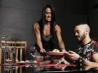Gracyanne Barbosa mostra hambúrguer de quinoa preparado para Belo