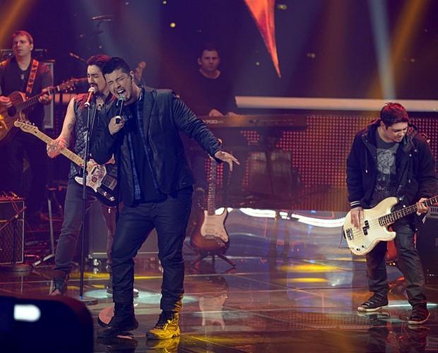 Malta fez sucesso no SuperStar desde a primeira apresentação com Memórias (Foto: Camila Serejo / Gshow)