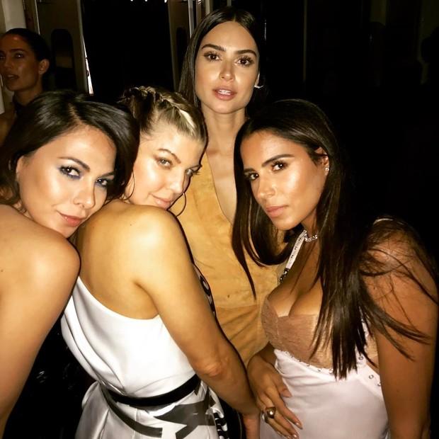 Thaila Ayala curte festa com Fergie em Los Angeles (Foto: Reprodução / Instagram)
