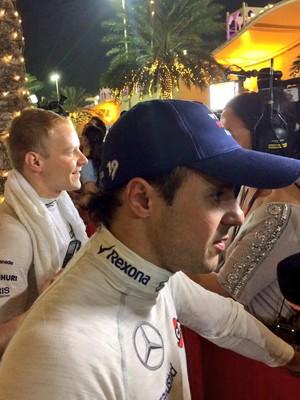 Felipe Massa após GP do Bahrein (Foto: Divulgação)