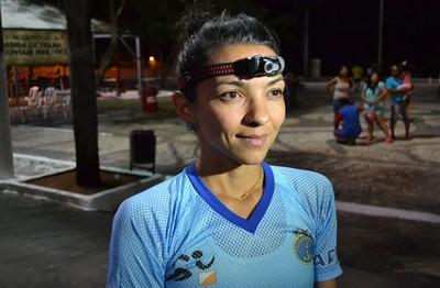 Carioca Tânia Carvalho conquistou bronze no mundial de revezamento (Foto: Hélder Rafael)