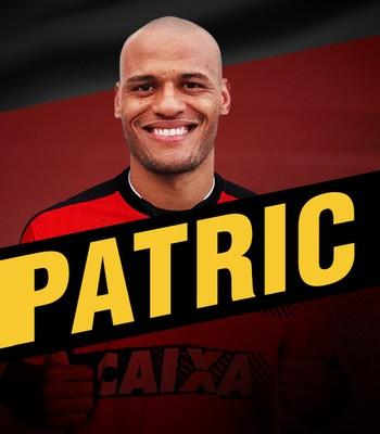 Vitória anuncia contratação de Patric (Foto: Divulgação / E.C. Vitória)