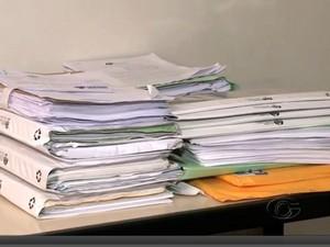 Documentação começa a ser analisada pelo Ministério Público (Foto: Reprodução/TV Gazeta)