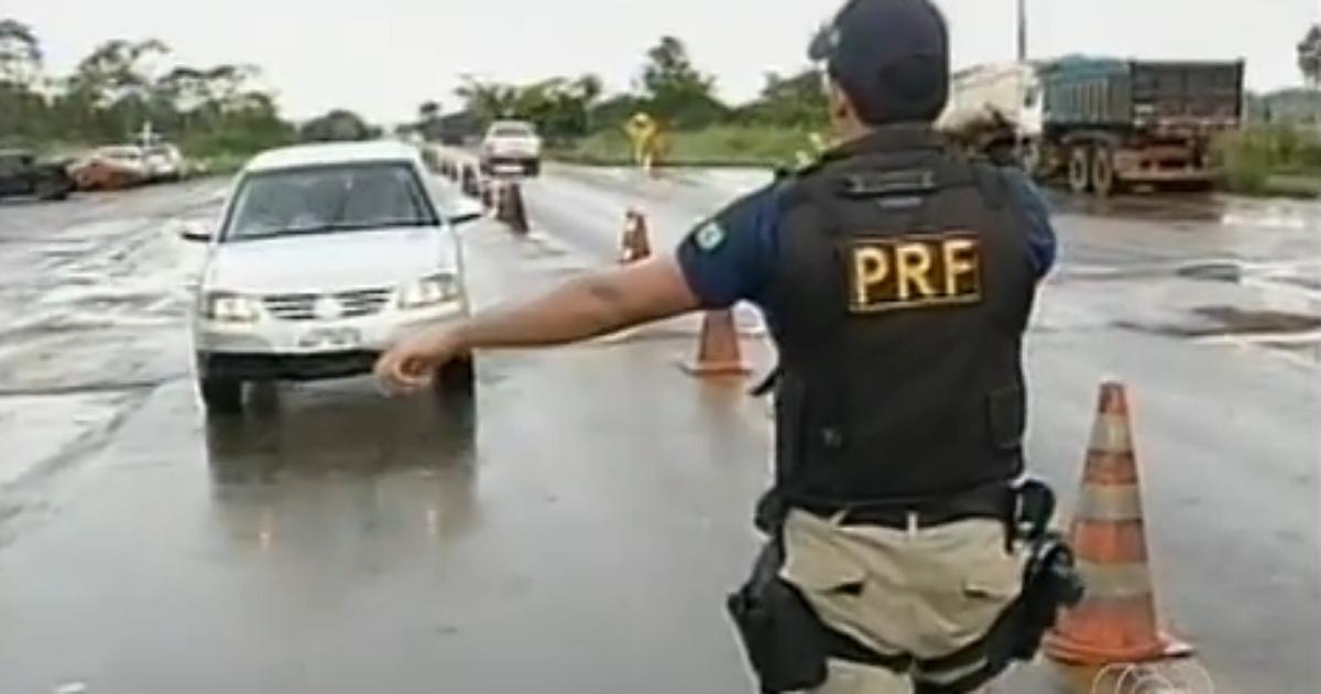 PRF intensifica fiscalização com a Operação 'Rodovida' no Tocantins - Globo.com