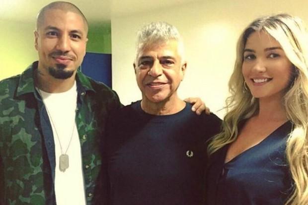 Fernando Medeiros, Lulu Santos e Aline Gotschalg (Foto: Reprodução/Instagram)
