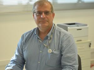 Diretor do superlaboratório de Campinas (Foto: Roberta Steganha/ G1)