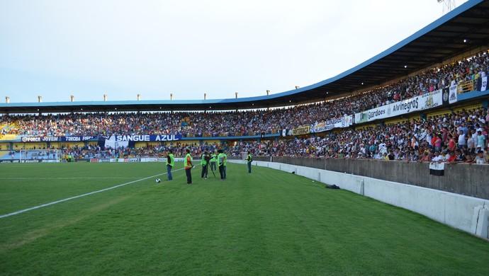 Semifinais serão realizadas em Santarém, no Estádio Colosso do Tapajós (Foto: Dominique/GloboEsporte.com)