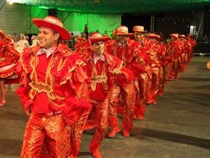 Finalistas das estilizadas são anunciadas nesta terça-feira (1), na Cidade Junina (Foto: Luiz Fernando/Agência Amapá)