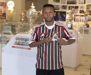 FRAME Chiquinho apresentação Fluminense (Foto: Reprodução)