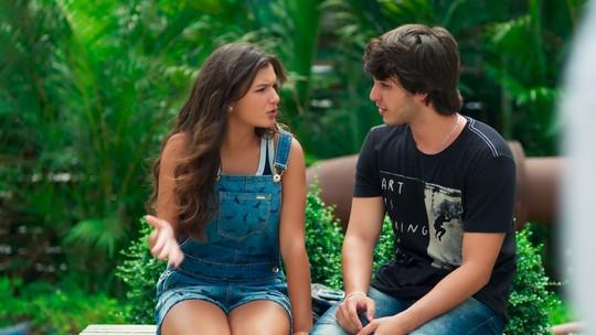 Luiza explode com Lucas: 'Não está dando mais'