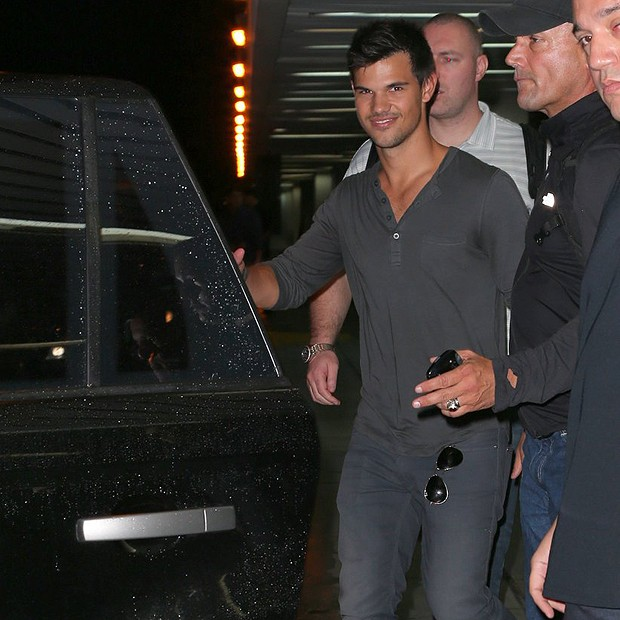 Taylor Lautner (Foto: Gabriel Rangel/ Agnews)
