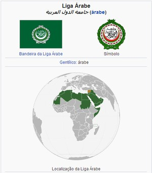 Liga árabe (Foto: Wikipedia)