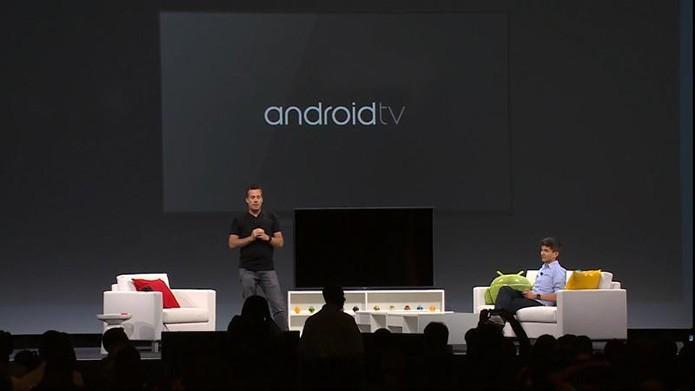 Android TV deve ter espaço especial no evento (Foto: Reprodução/Google)