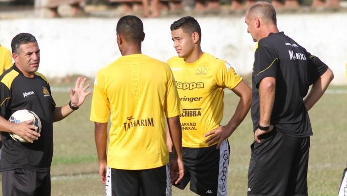 Criciúma treino (Foto: Fernando Ribeiro/www.criciumaec.com.br)