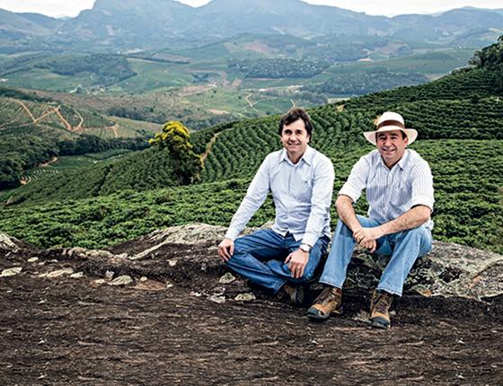 Walter e Ednilson Dutra  (Foto: Sérgio Cardoso/Globo Rural)