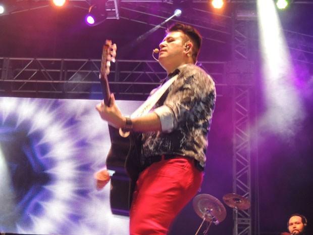 Bruno e Marrone (foto) cantaram letras próprias e também de Reginaldo Rossi, Fábio Jr e outros artistas (Foto: Luna Markman/G1)