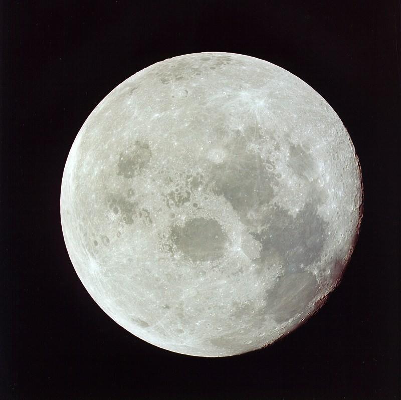 Lua vista da Apollo 11 (Foto: NASA)