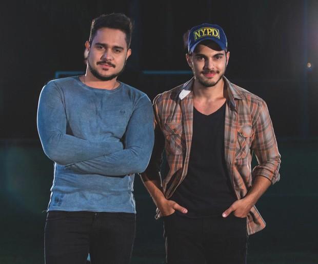 A dupla Zé Felipe e Miguel (Foto: Jess Sulle)