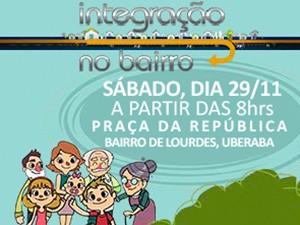 'Integração no Bairro' é uma parceria entre a Prefeitura de Uberaba e a TV Integração. (Foto: Divulgação )