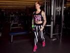 Penélope Nova mostra parte do treino que transformou seu corpo para o EGO
