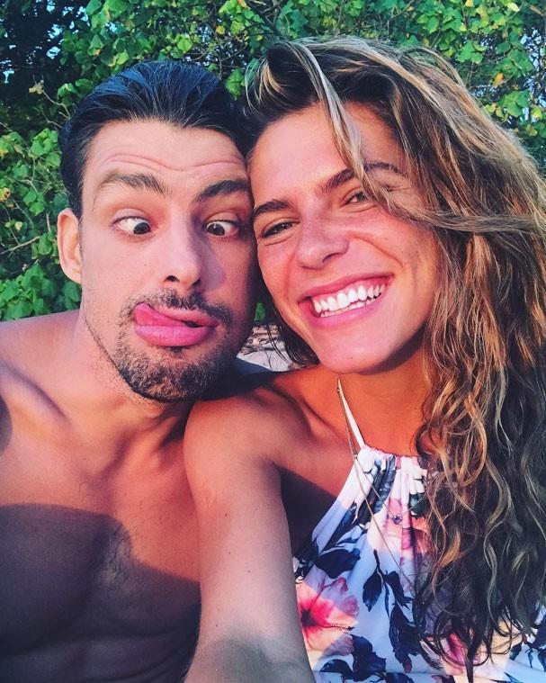 Mariana Goldfarb e Cauã Reymond (Foto: Reprodução Instagram)