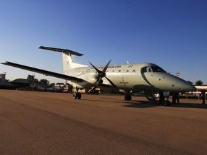 Avião da Força Aérea Brasileira destinado para transporte de órgãos pelo país (Foto: Divulgação)