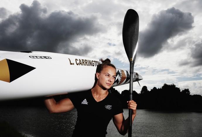 Lisa Carrington, da Nova Zelândia (Foto: Hannah Peters/Getty Images)