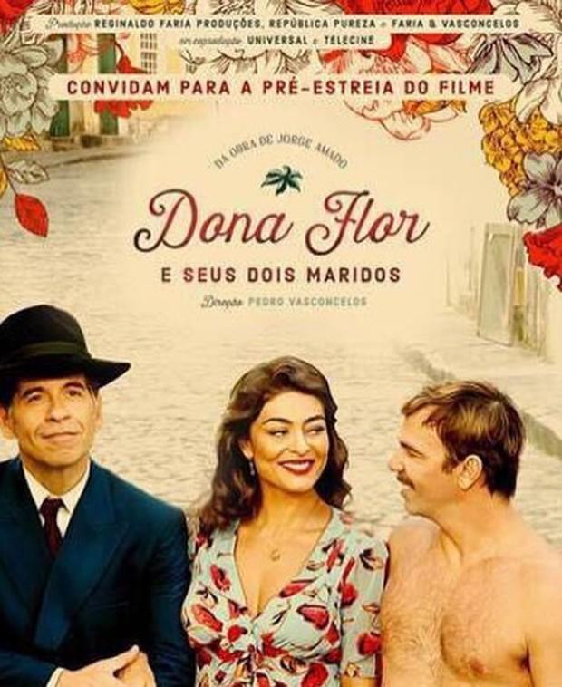 Cartaz do filme Dona Flor e Seus Dois Maridos (Foto: Reprodução/Instagram)