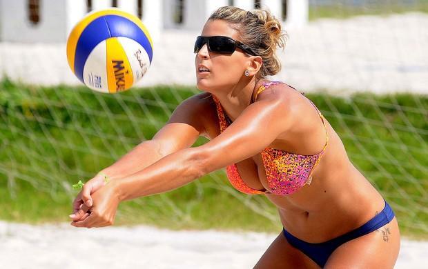 vôlei de praia mari paraiba treino (Foto: Alexandre Durão / Globoesporte.com)
