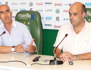 Rogério Giardini Álvaro Negrão Guarani (Foto: Warley Menezes / Guarani FC)