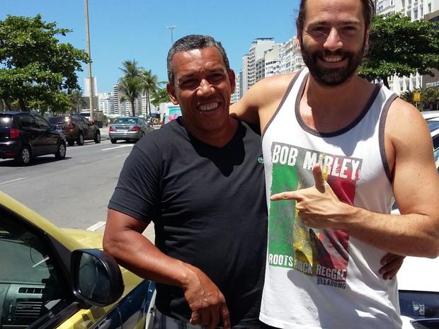 Taxista devolveu mala com equipamentos que valiam R$ 140 mil no Rio (Foto: Arquivo pessoal)