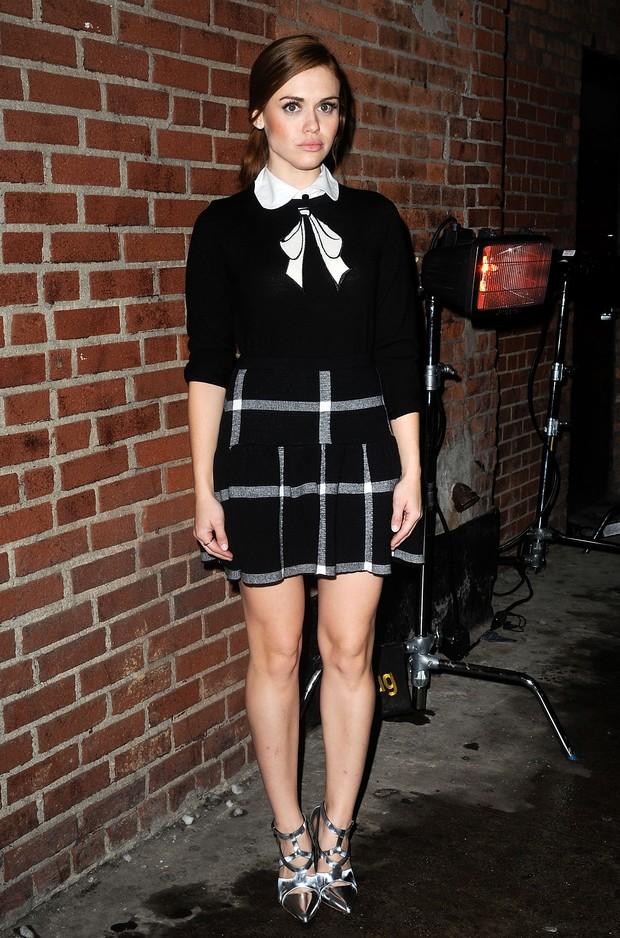Modelo vai a evento em Londres (Foto: Getty Images)