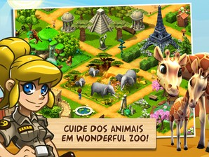 Wonder Zoo Resgate animal