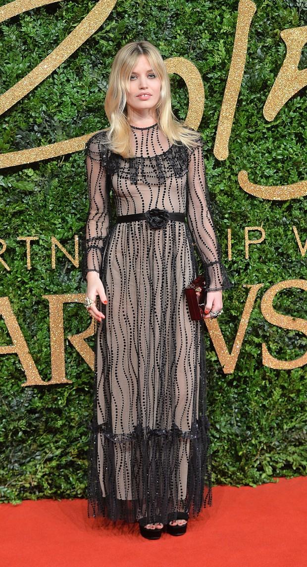 Georgia May Jagger no British Fashion Awards (Foto: Getty Images)