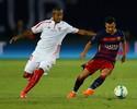 Mesmo com derrota para o Barça, Mariano comemora estreia pelo Sevilla