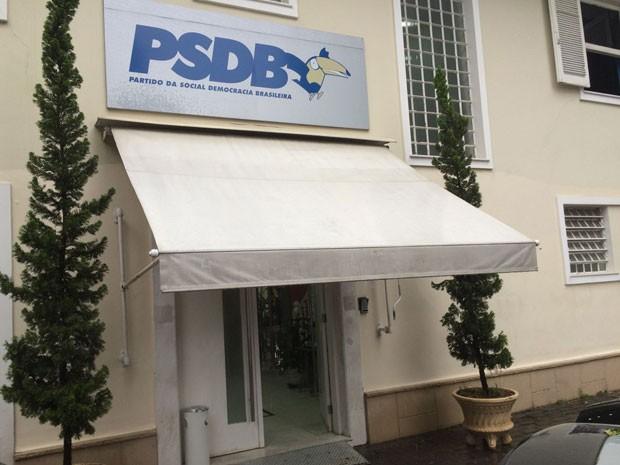 Reunião do diretório estadual do PSDB em São Paulo (Foto: Roney Domingos/G1)