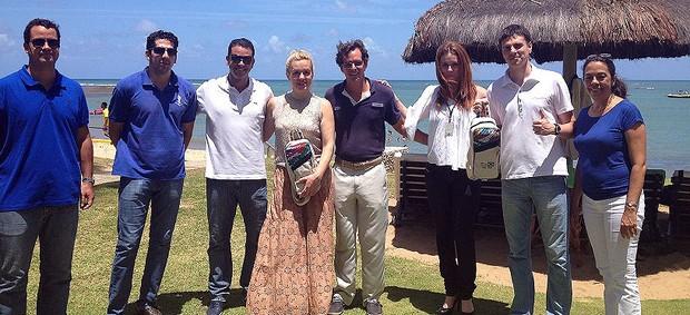 visita da delegação da rússia à bahia (Foto: Secopa Bahia / Divulgação)