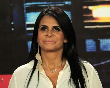 Gretchen comenta reação do marido após sua última lipo (Marcos Mazini/Gshow)