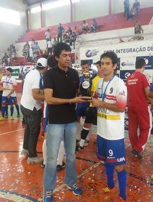 Rafael Sixel artilheiro Ubá Copa Integração Futsal (Foto: Roberta Oliveira)