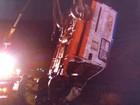 Três pessoas morrem na PR-449, após capotamento de ambulância