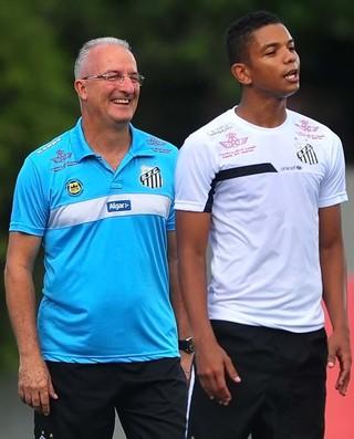 Dorival Júnior já conta com David Braz para partida contra o Rio Claro (Foto: Ivan Storti/Santos FC)