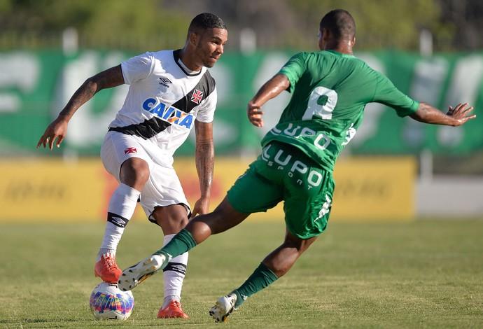 Jhon Cley, Vasco x Boa Vista (Foto: Pedro Martins / Ag. Estado)