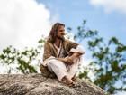 Igor Rickli volta a encarnar Jesus em gravação da 'Paixão de Cristo'