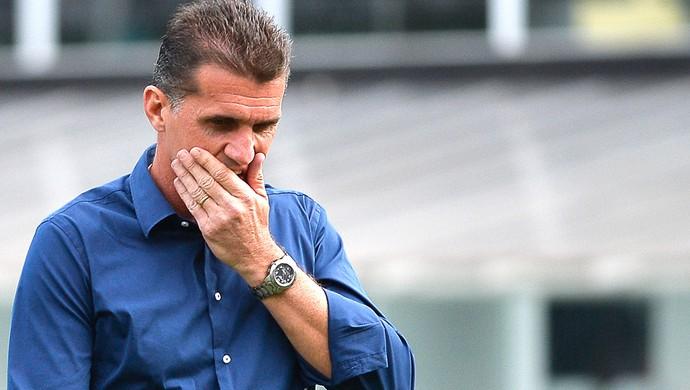 Vagner Mancini, Santos X Botafogo (Foto: Levi Bianco / Agência estado)