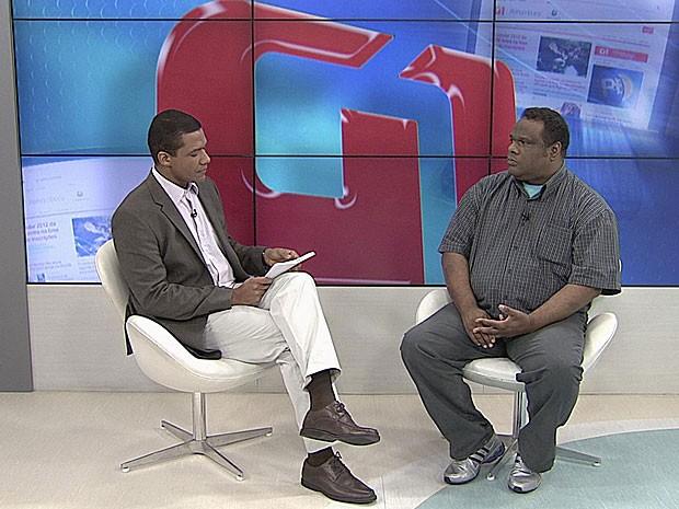 Entrevista - Esteves Jacinto - Recife (Foto: Luiza Mendonça / G1)