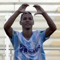 Gol de Fernando Santos, macaé x barra mansa (Foto: Tiago Ferreira / Macaé Esporte)