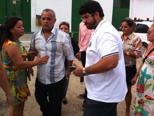 Suspeito do crime estava detido no Cotel desde 16 de outubro (Foto: Wanessa Andrade/TV Globo)