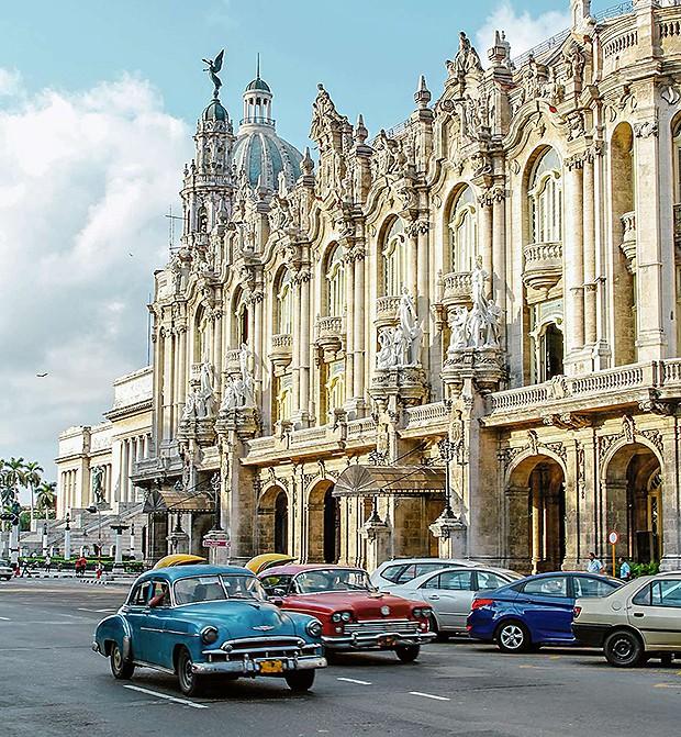 Gran Teatro de La Habana, edifícios históricos (Foto: Thinkstock, Reprodução Instagram)